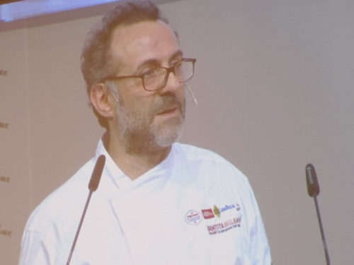 Italian superstar chef Massimo Bottura