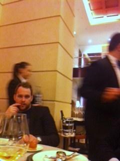 Ka Björn Frantzeni, kellega õhtusöögi lauda jagasime, tegi Cracco menüü pisut nõutuks