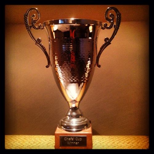 Chefs' Cupi võidukarikas