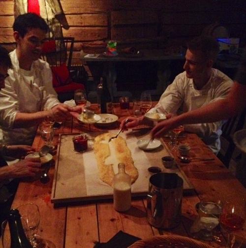 Jackob Itaaliast serveeris meile polentat kui magustoitu